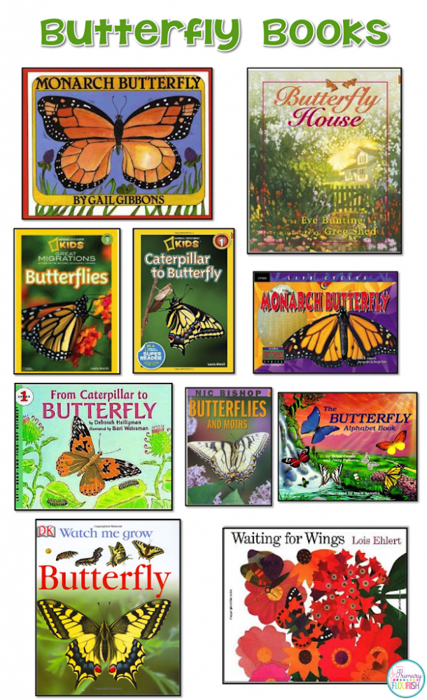 A collection of my favorite butterfly picture books to use when we study butterflies.