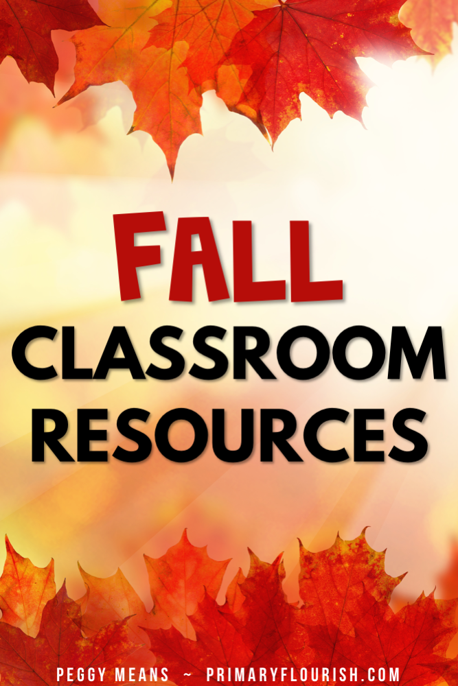 Lots of FREE Fall Thematic classroom teaching ideas! These resources are perfect for a 1st, 2nd or 3rd grade classroom. A collection of Halloween, Thanksgiving, pumpkin, and scarecrow reading, writing and math resources for your classroom!